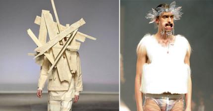 29件我確定是外星人設計師設計出的「超扯地球時尚」。