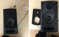 這名網友在辦公室附近找到了一個看起來很普通但擺設位置很奇怪的音響因此就起疑,當拆開後就嚇壞了!
