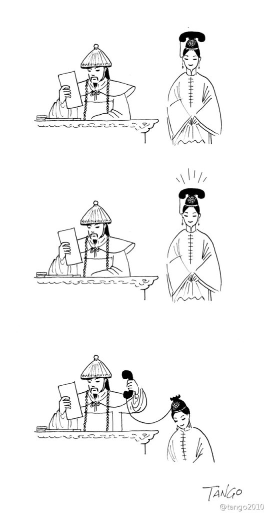 21張「人生諷刺的有點好笑」的黑色幽默插畫!