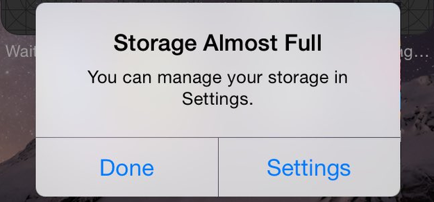 The Yes-I-Know-My-Storage-Is-Almost-Full Cleanse