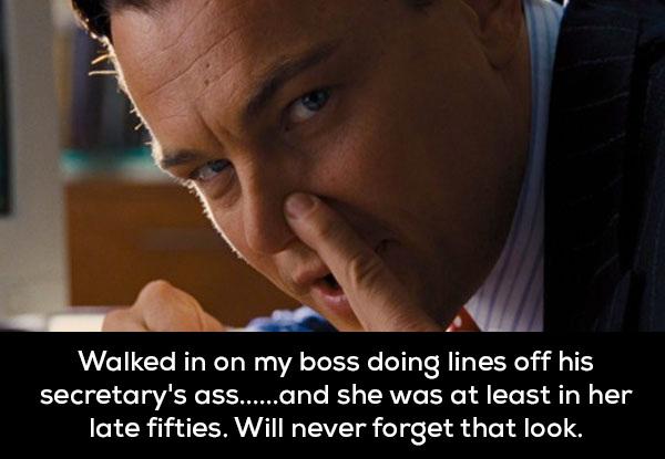 15名網友分享他們「比華爾街之狼還誇張」的公司派對經歷。