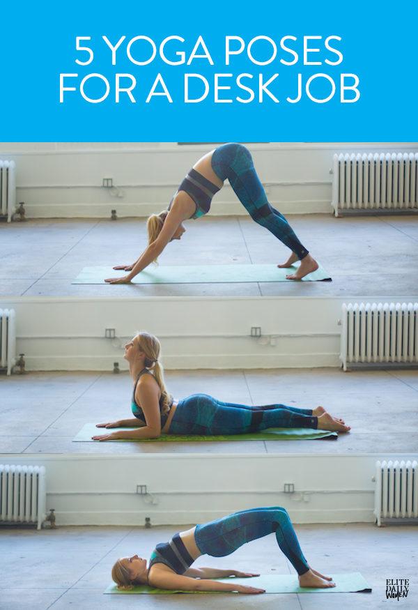 5個長期坐辦公室的人不知道會吃虧的「超簡單解決肌肉痠痛瑜伽動作」!