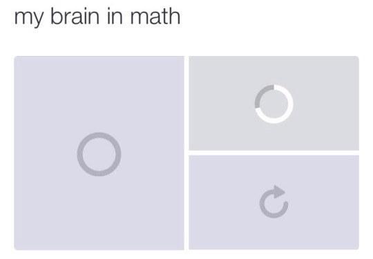 Brain freezes.