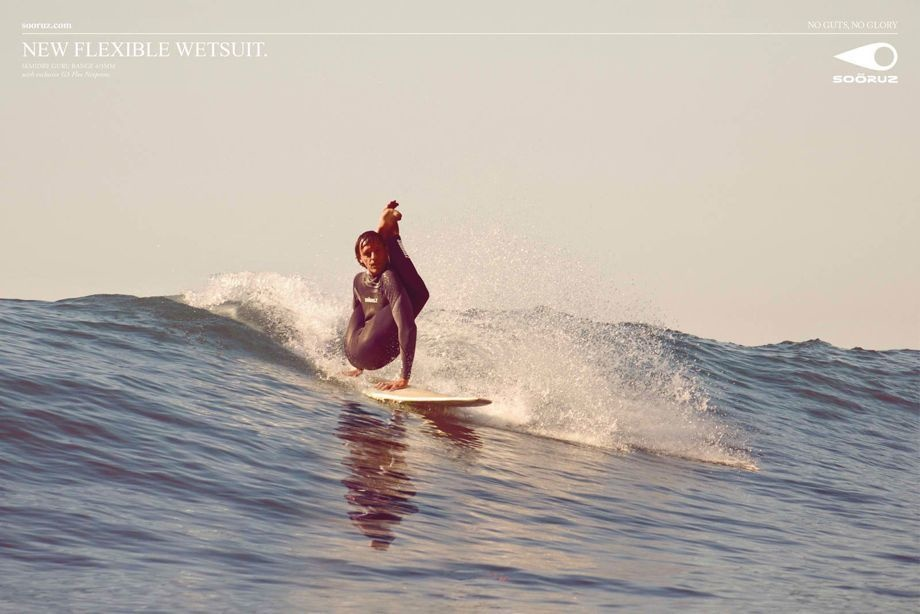 A wetsuit for those who really want to push themselves to the limit.