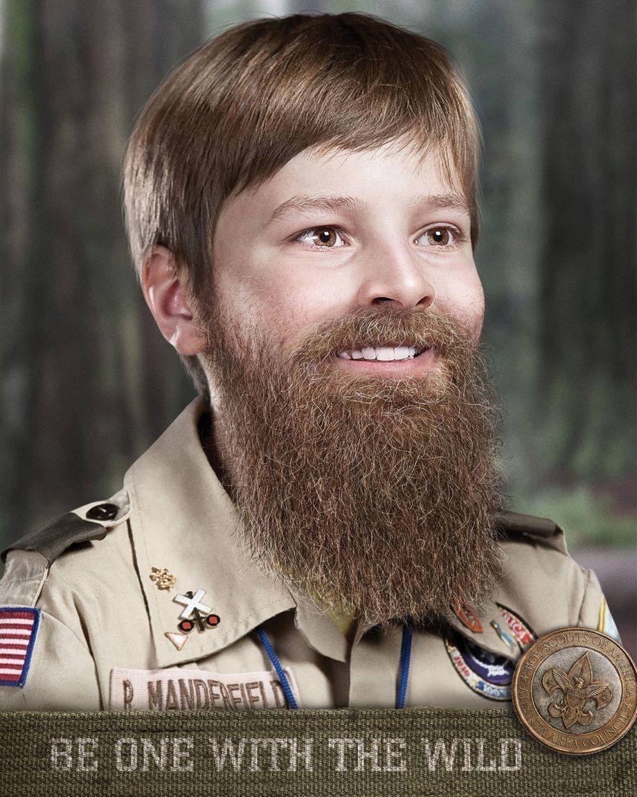 Preparing boys for manhood through the Boy Scouts.