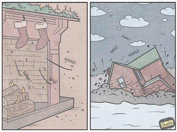這些超諷刺漫畫你要看兩遍才會看懂,但一旦看懂你就會覺得又更聰明一點了!