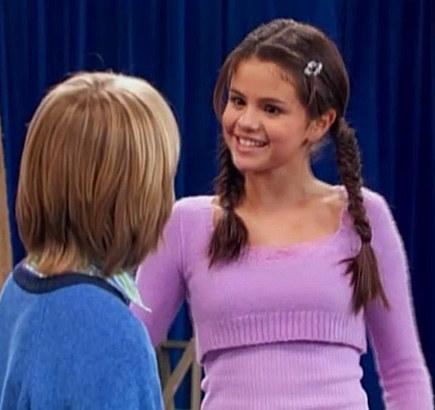 Selena Gomez then: