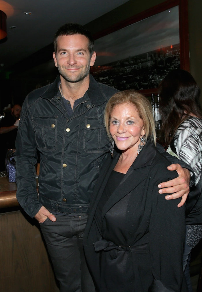 Bradley Cooper and mom Gloria.