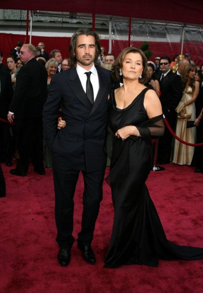 Colin Farrell and his glamorous mom, Rita.