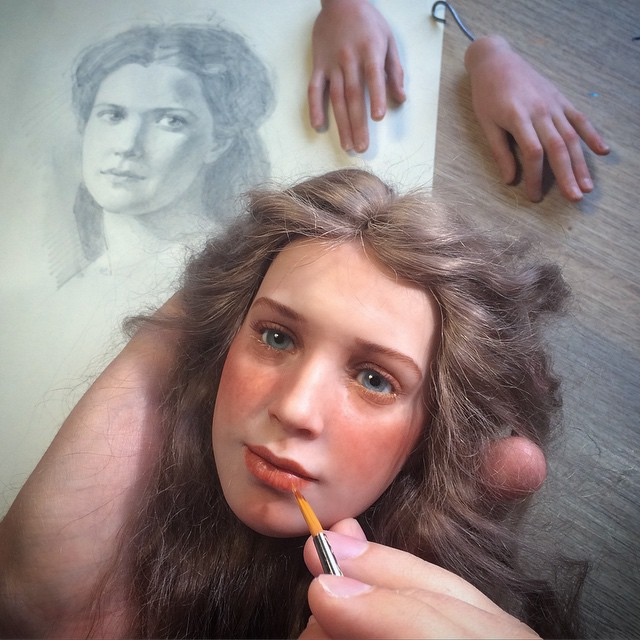 realistic-doll-faces-polymer-clay-michael-zajkov-17