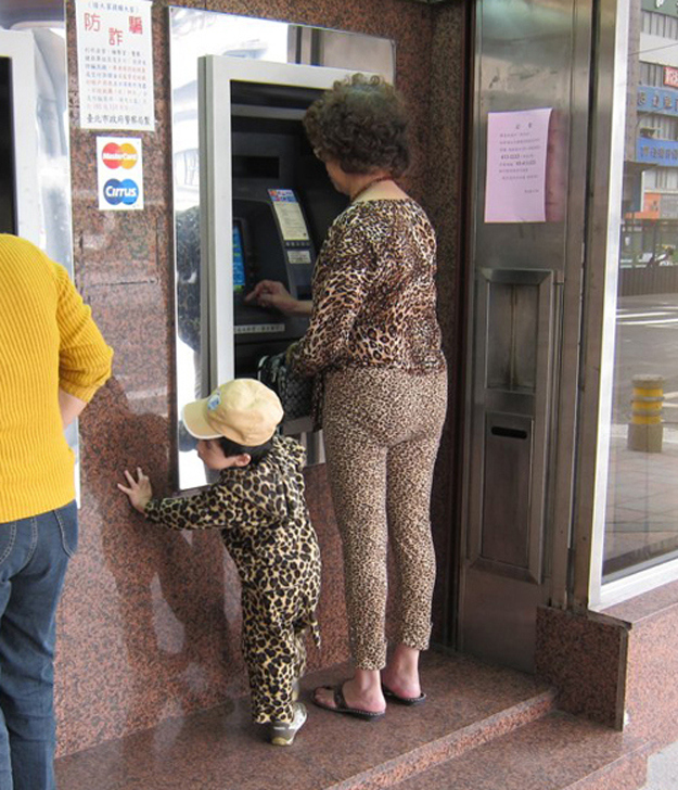 This cheetah woman and her kin.
