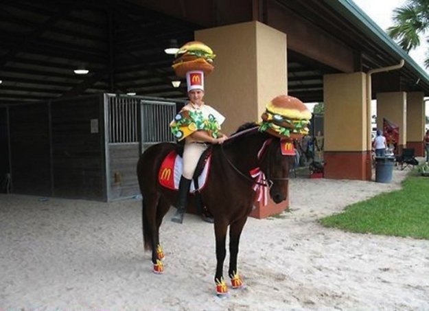 This McDonald's wizard.