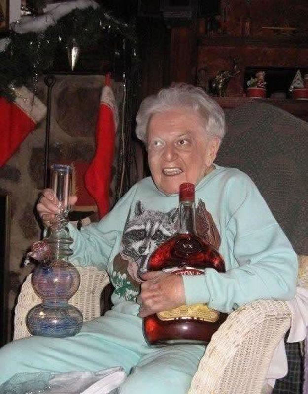 This grandma.