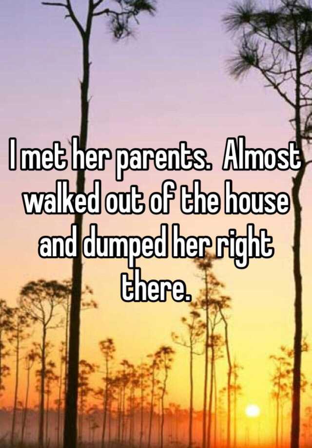 18名網友匿名分享他們「與另一半爸媽最尷尬的崩潰碰面情形」。