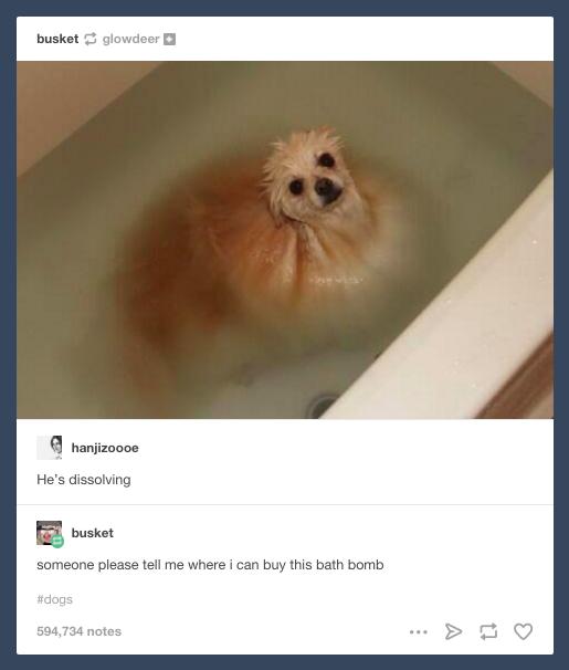 Bath time: