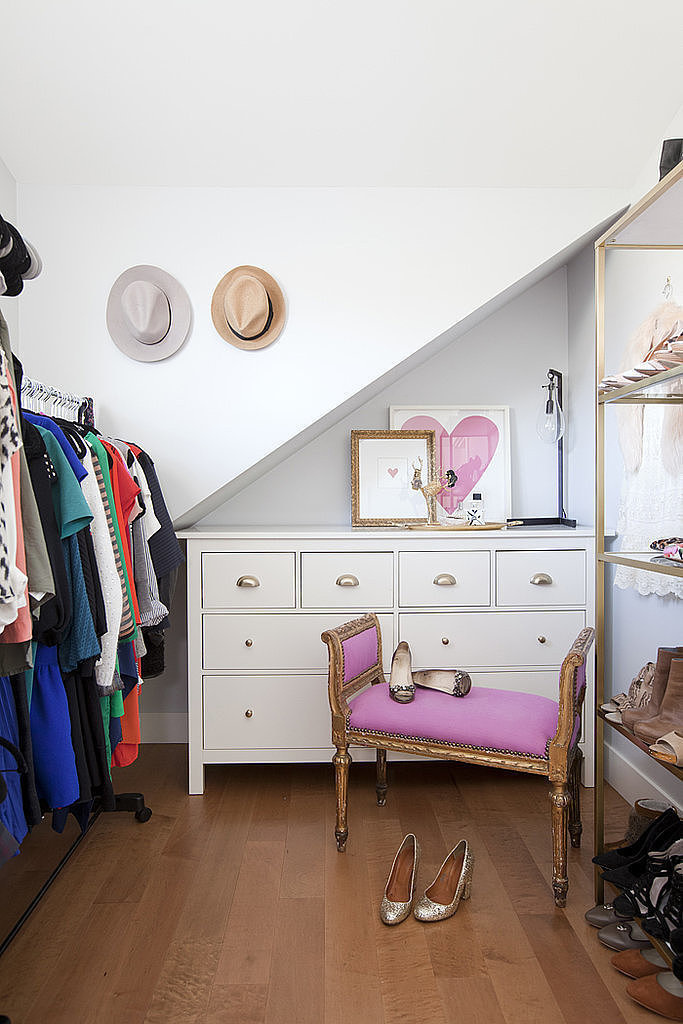 Jillian Harris, former Bachelorette, has an entire room dedicated to her clothing.