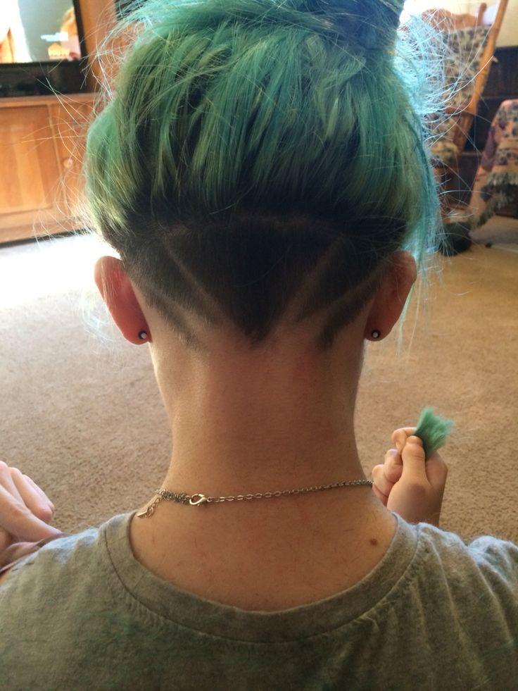 14张「不必剪长发的叛逆剃发造型」,会让短发女孩羡慕图片