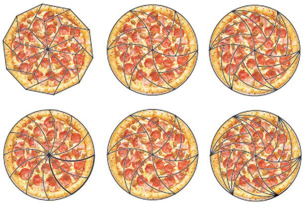 兩位數學學者發現「我們一直以來都用錯誤方式在切披薩」,而這才是最完美的披薩切法!