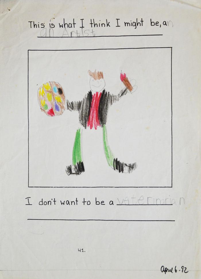 畫家分享自己2 28歲的畫作 到最後明白了「許多才華是靠耐心得來的」