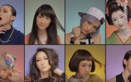 你先看到這8個不同的女生在8個格子裡。當她們全卸妝後妳才會看到化妝的恐怖!