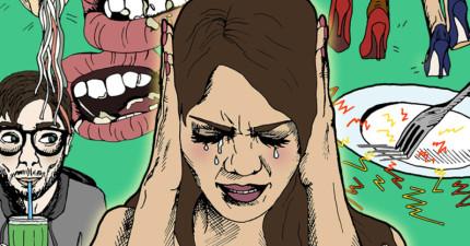 如果聽到別人「嚼食物的聲音」會不爽的話?你其實患有「恐音症」