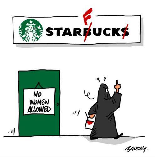 星巴克因為這個門牌已經讓很多女性都堅持抵制星巴克了,但看完後發現也不完全是他們的錯...