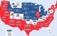這就是全世界每個國家各個最愛的汽車品牌。中國最愛的品牌讓你看到中國人民其實最環保!