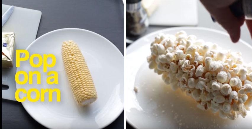 我一直以為要做爆米花一定要買那種微波爆米花,看到這個「只需要一根玉米」超簡單DIY後我覺得以後贏定了!