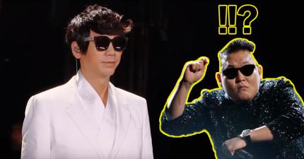 信這次決定挑戰「用金屬嘶吼唱腔改編《江南Style》」,當唱出第一句全場都忍不住站起來尖叫了!