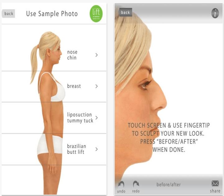 這些最新推出的APP能讓妳看到妳隆乳後的效果,很多女孩們看完後才知道原來自己巨乳是這個模樣!