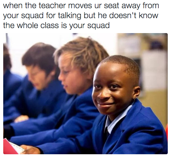 Taking over the class: