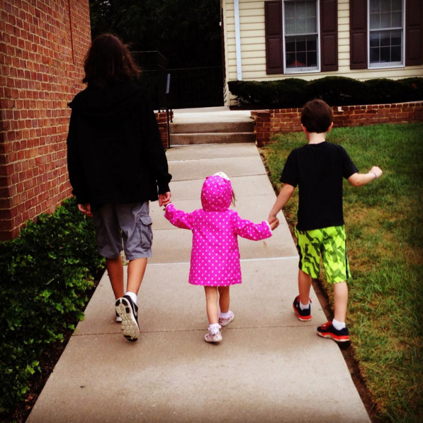 And finally, when you realize they will always be there to hold your hand: