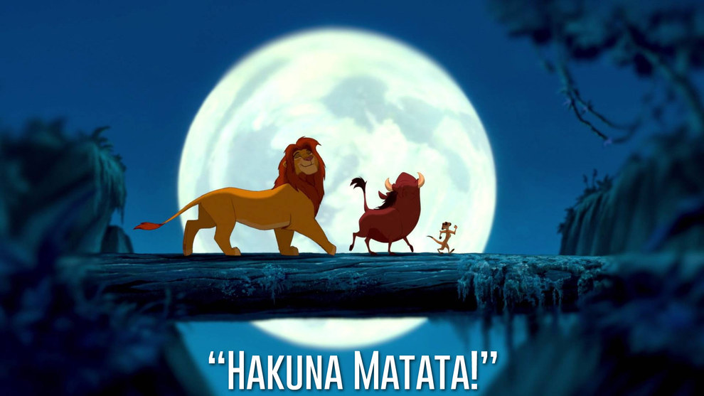 Timon and Pumbaa, The Lion King