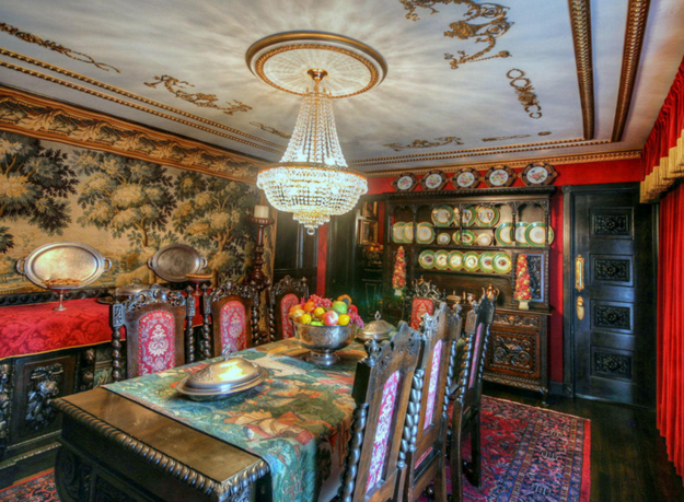 The dining room!
