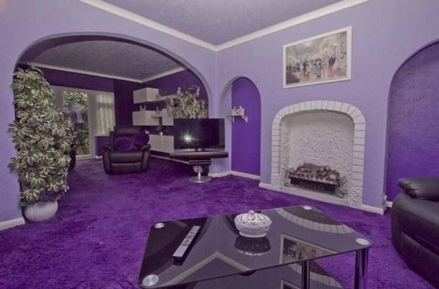 ...purple.