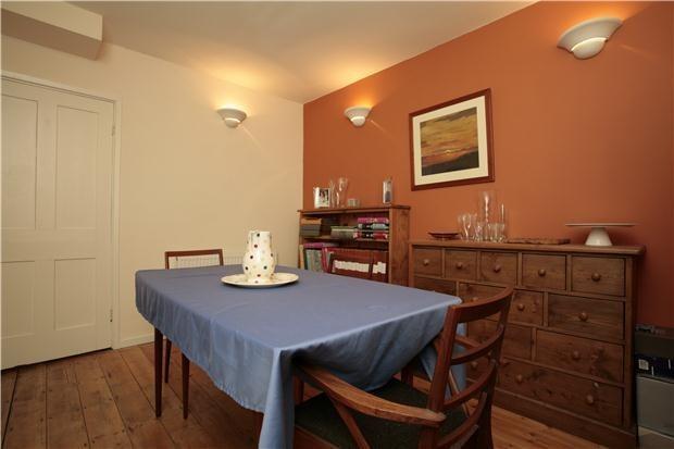 ...a quaint little dining area...