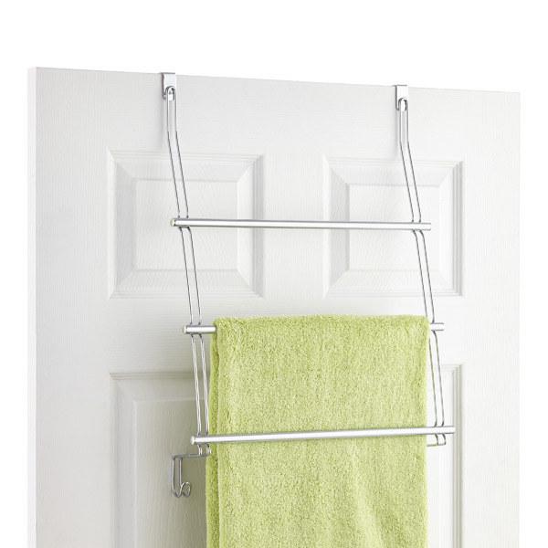 This multi-layer towel drying rack ($14.99).