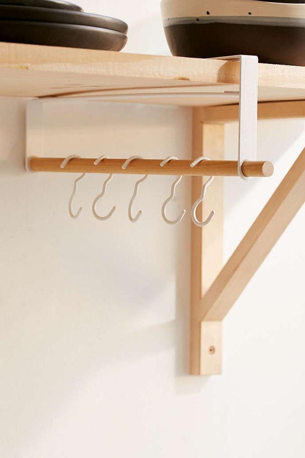 This under-shelf storage rack ($26).