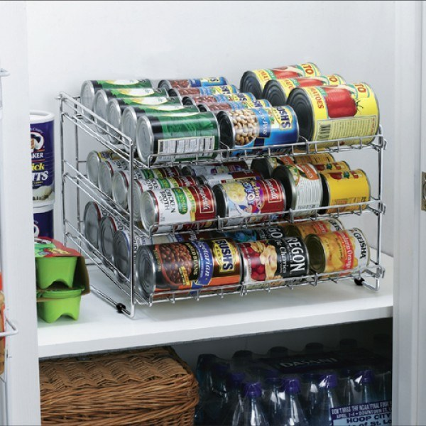 These shelves that are perfect for can storage ($31.35).