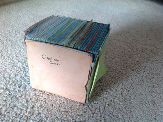 網友分享小時候太窮因此跟哥哥自製「遊戲卡片套組」,看到比神奇寶貝還要棒的內容我已經跪下了...