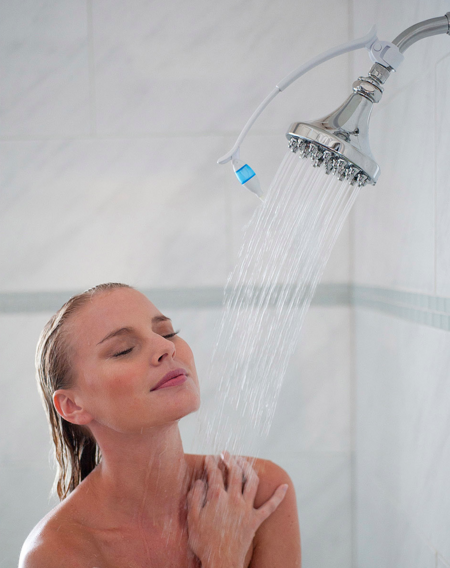 This aromatherapy kit to make your shower smell as good as you do.