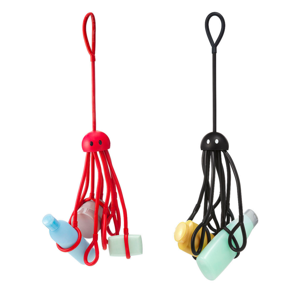 These shower squids to hold all your products.