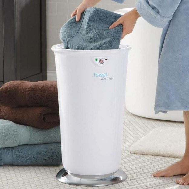 This warmer to keep your towels nice and toasty.
