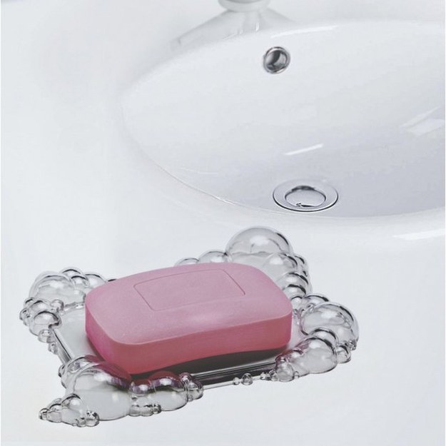 This cute little bubbles soap dish.