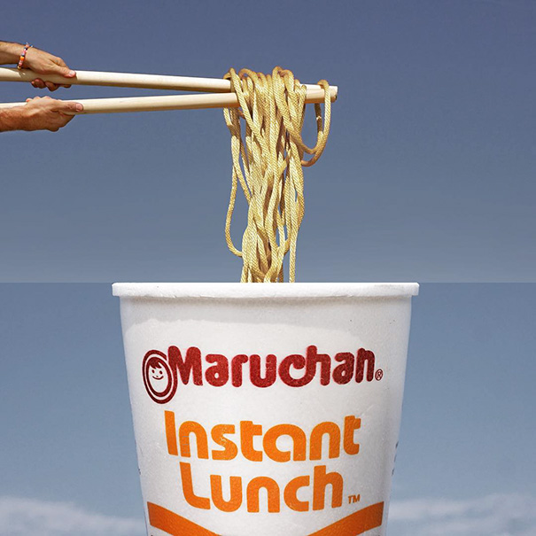 Rope On Rods + A Cup Of Instant Lunch
