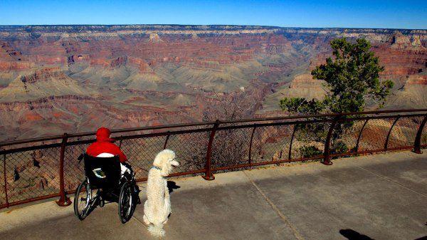 South Rim of the Grand Canyon, AZ.