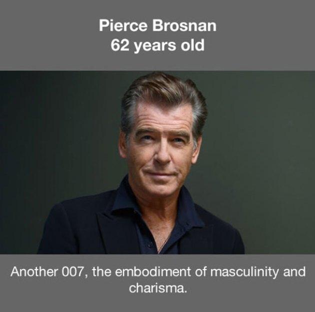 17位就算已經老到可以當你爸爸但還是比你帥N倍的「越老越帥男星」。