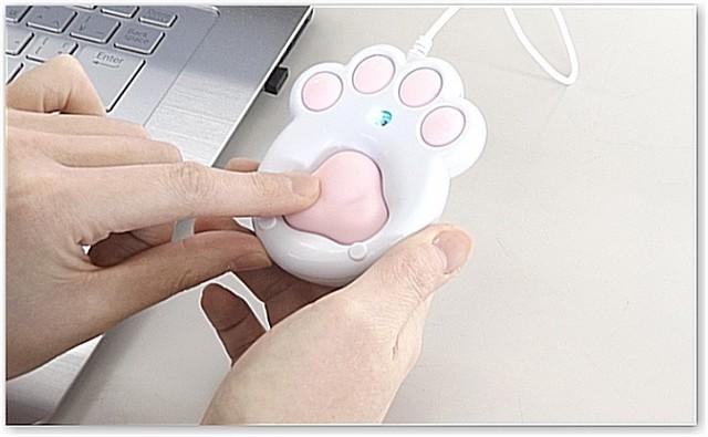我以為這只是一個可愛版的滑鼠,但當把它翻過來時... 我被「秒療癒了」!
