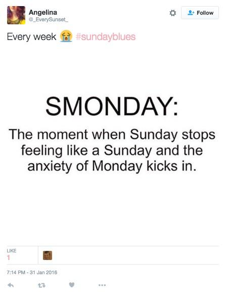 19個只有上班族才能秒懂的「一到了星期天整個剉屎」內心OS!