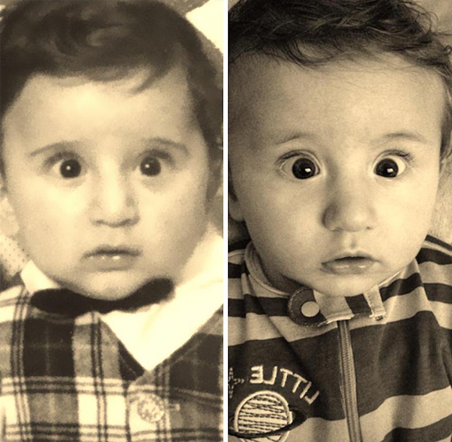 24張「超強遺傳基因照」證明你的前生可能就是你的祖先吧!